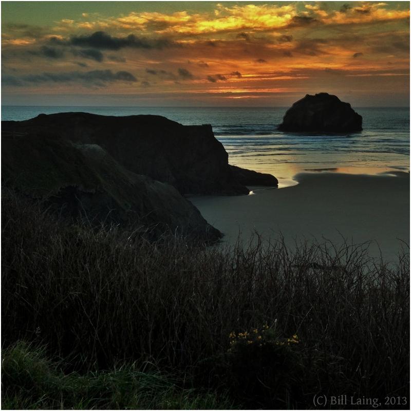 Sunset, Bandon, Oregon