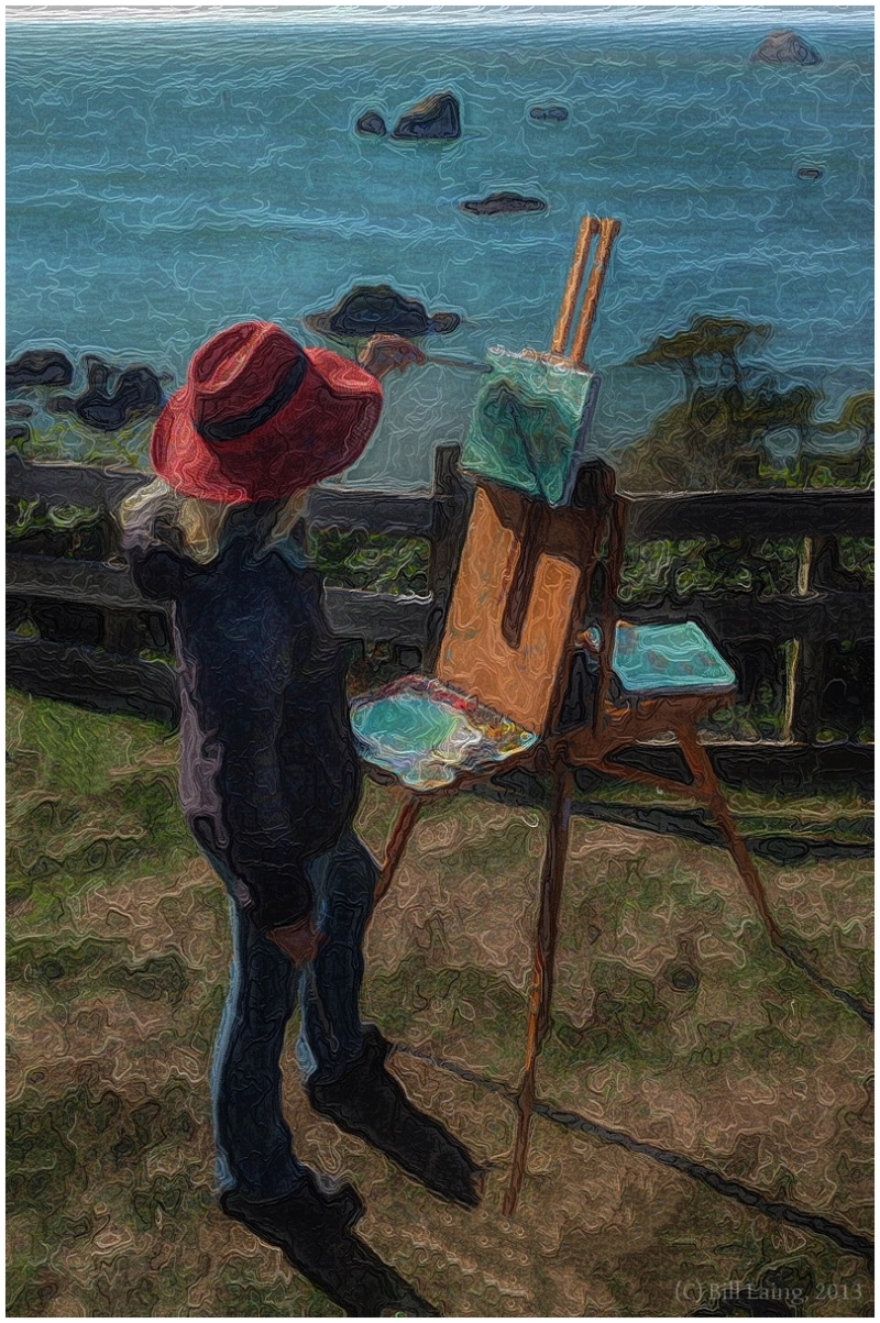 En Plein Air, Trinidad, California