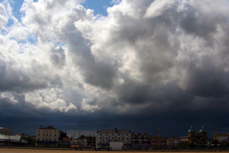 Cloudy Yarmouth...