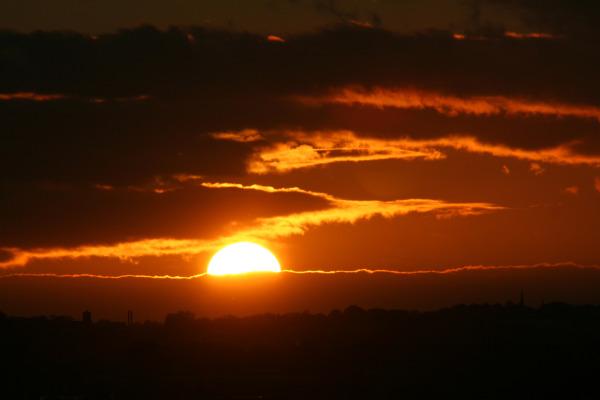 Mansfield Sunset - Windsor Road