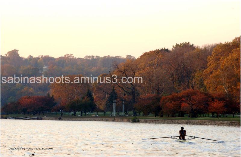 sculling in philadelphia on the schuylkill river