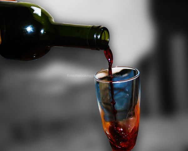 A glass of nectar