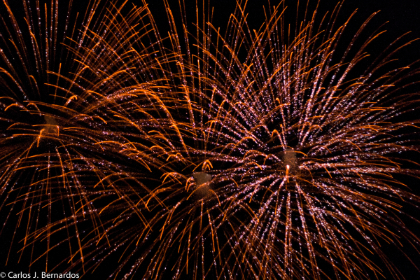 Fireworks at Montreal (III)