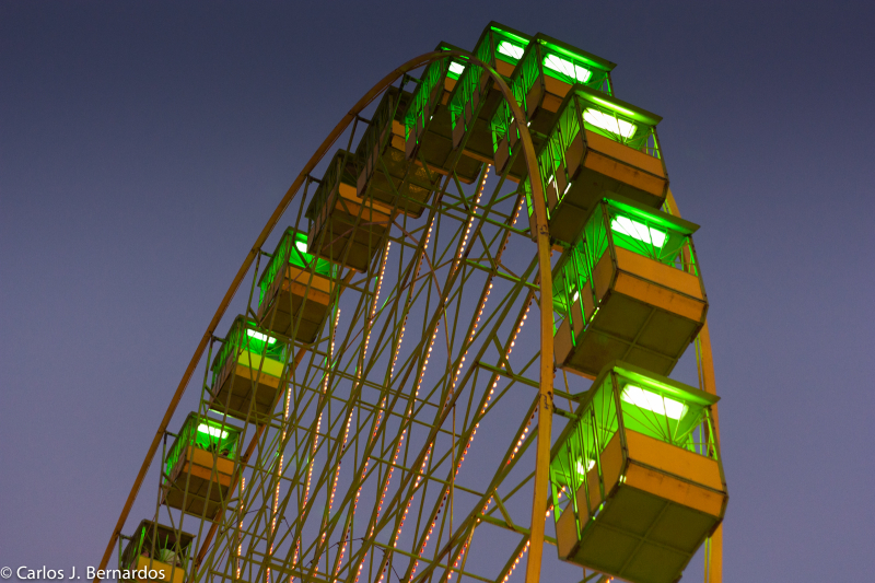 Ferris wheel at Fuenlabrada