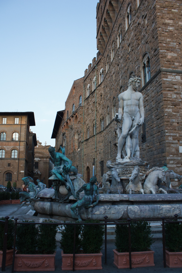 Florence fountain