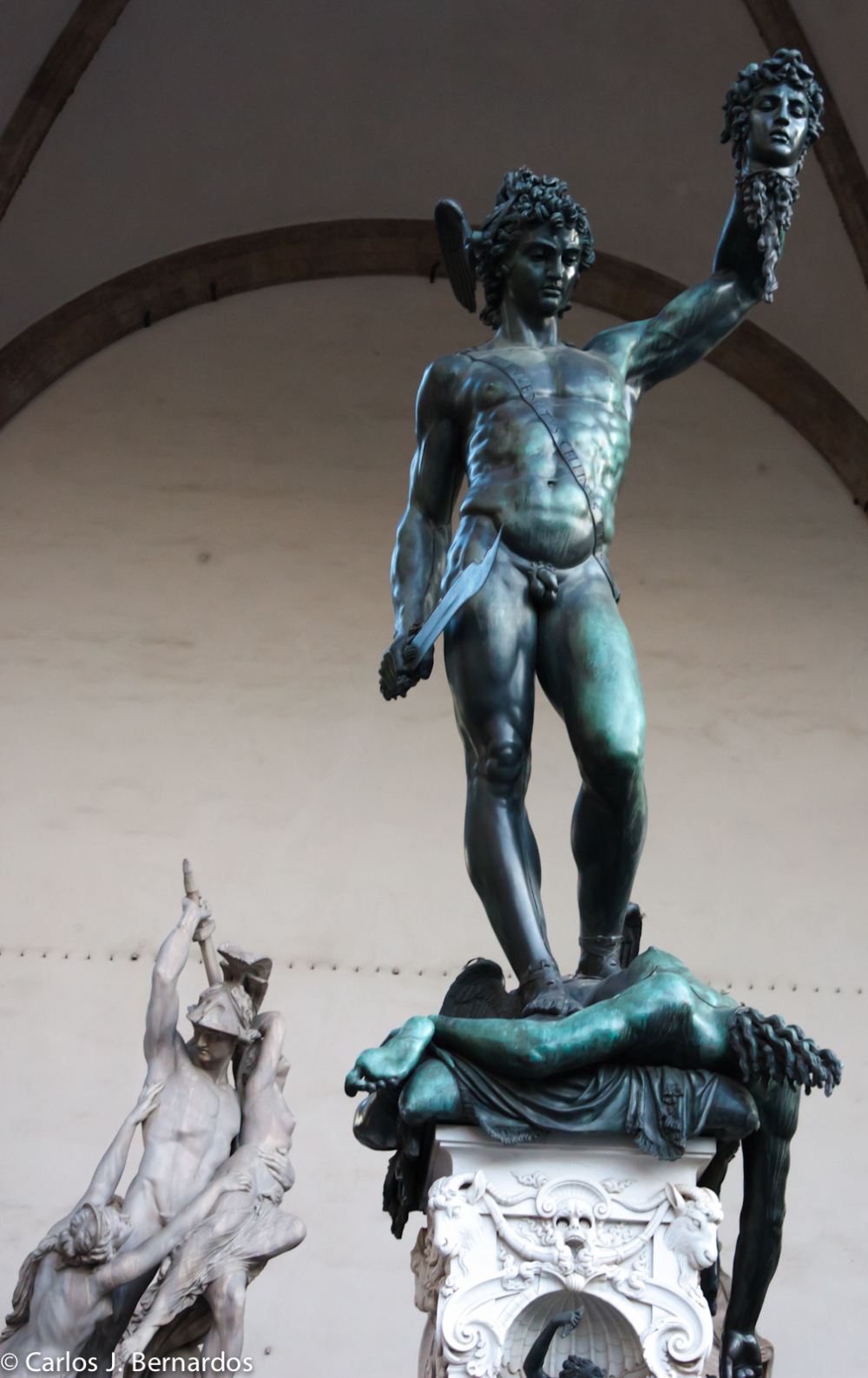 Streets of Florence: sculpture