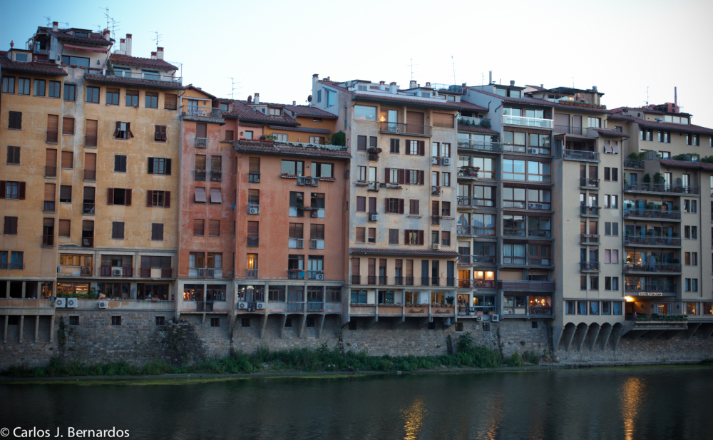 Streets of Florence: buildings