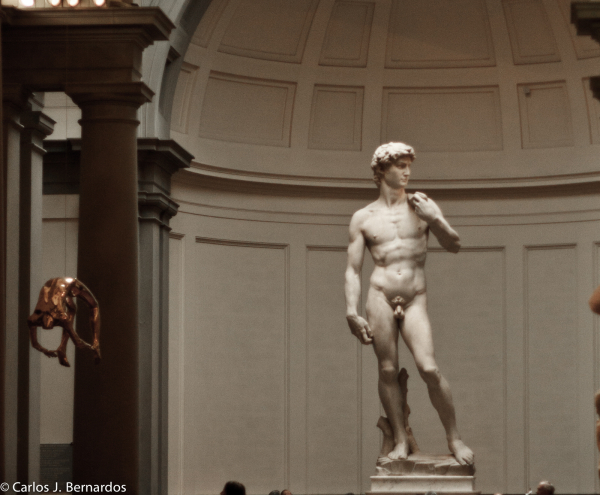 Streets of Florence: David