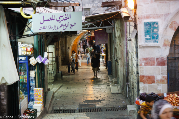Jerusalem (Israel): market alley