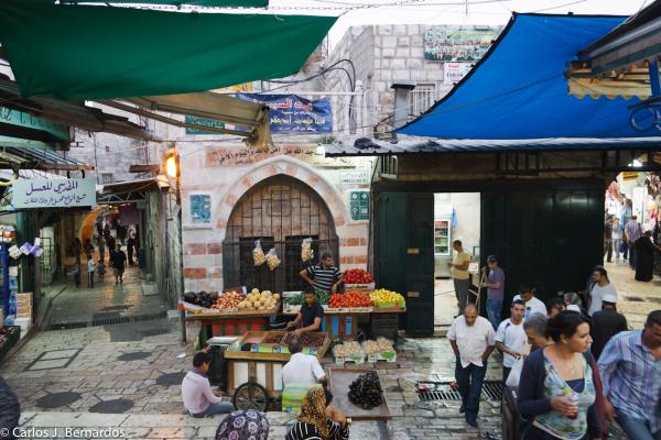 Jerusalem (Israel): market