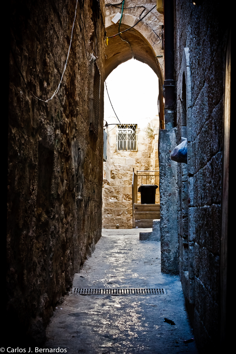 Jerusalem (Israel): view of an alley