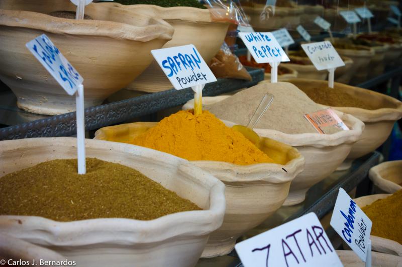 Jerusalem Israel market saffron