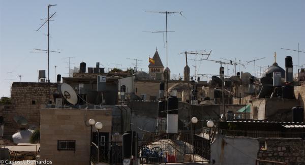 Jerusalem, Israel: spanish flag