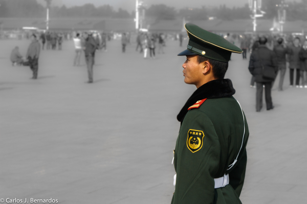 Beijing: Chinese soldier