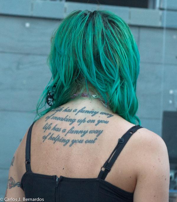 Florence: Alanis fan tattou