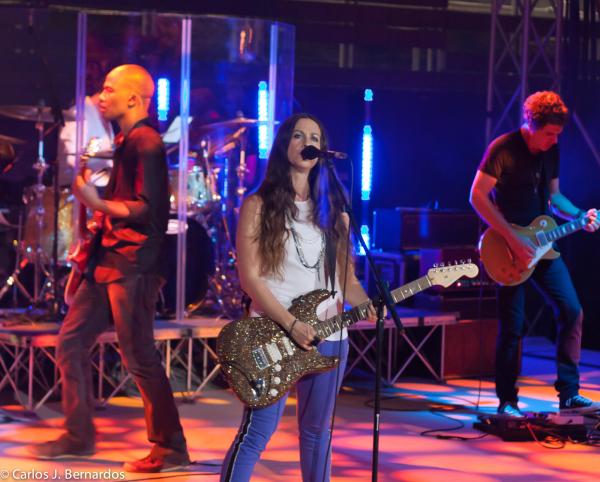 Florence: Alanis concert