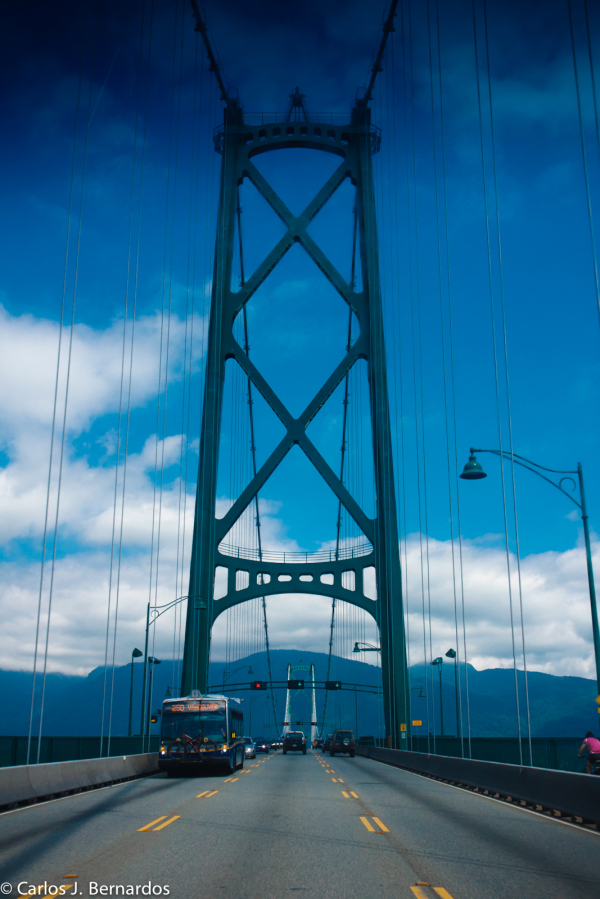 Vancouver bridge road