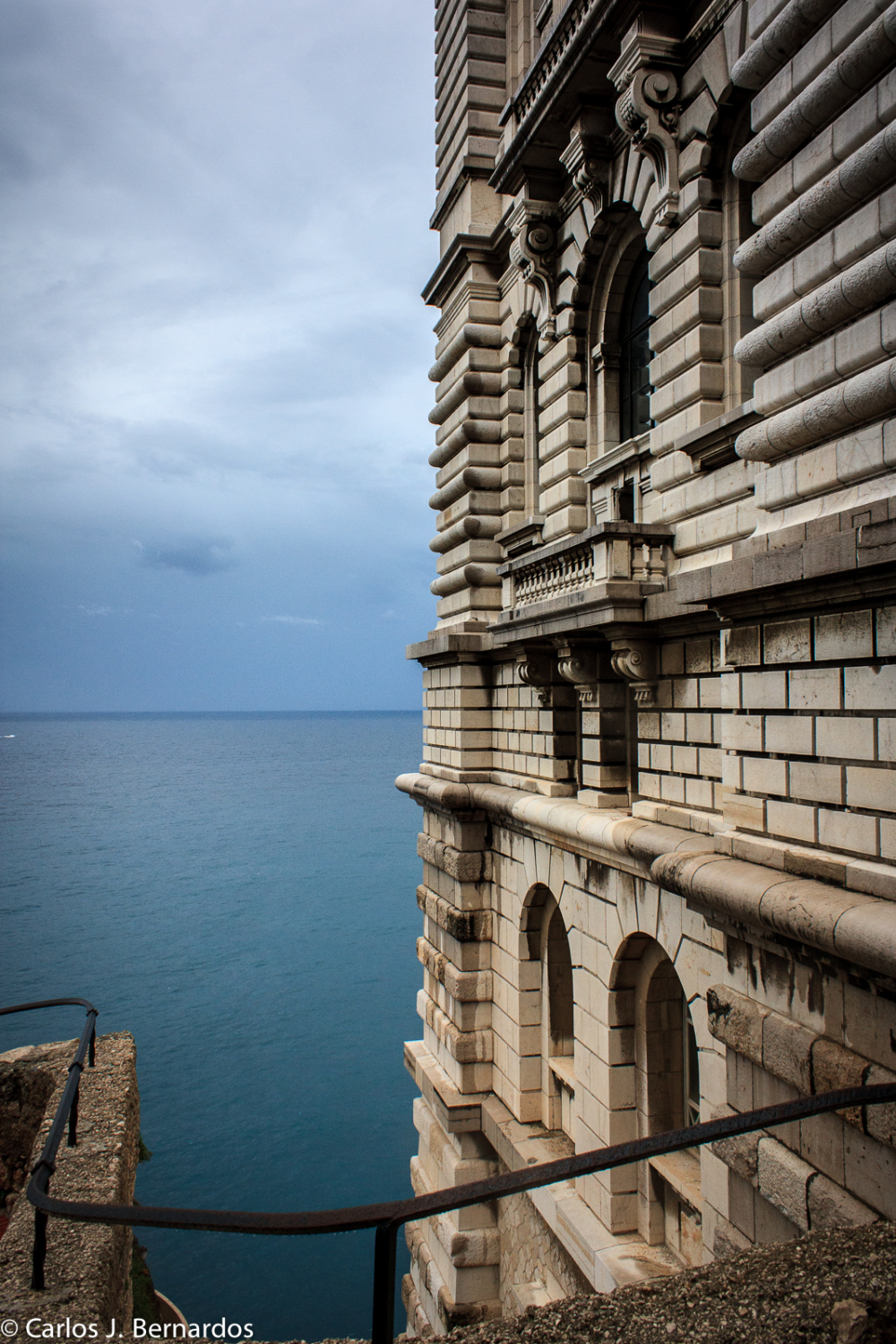Sea view from Montecarlo