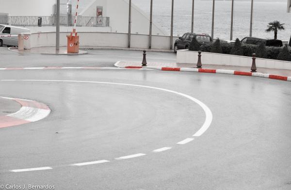 Monaco F1 turn