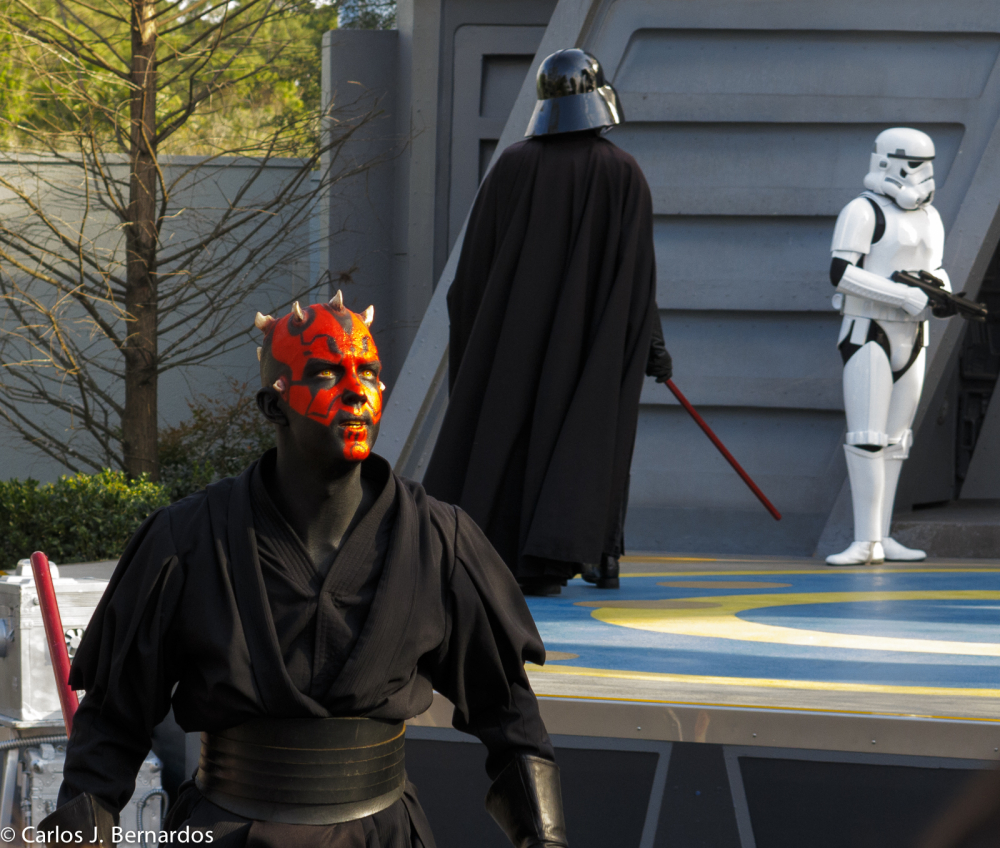 Star Wars at Disney park (Orlando)