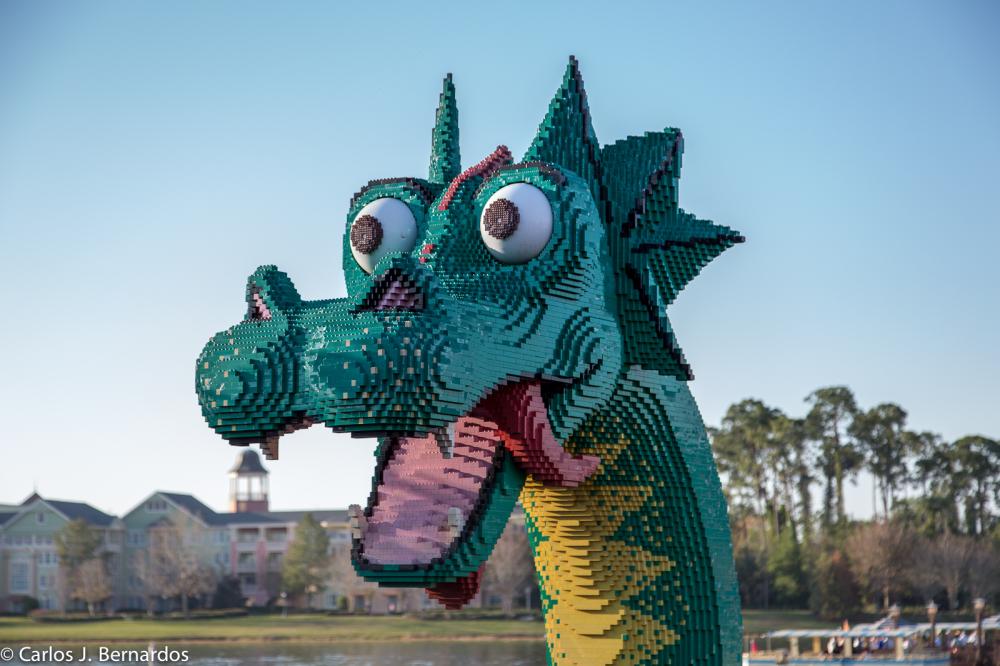 Orlando amusement park lego