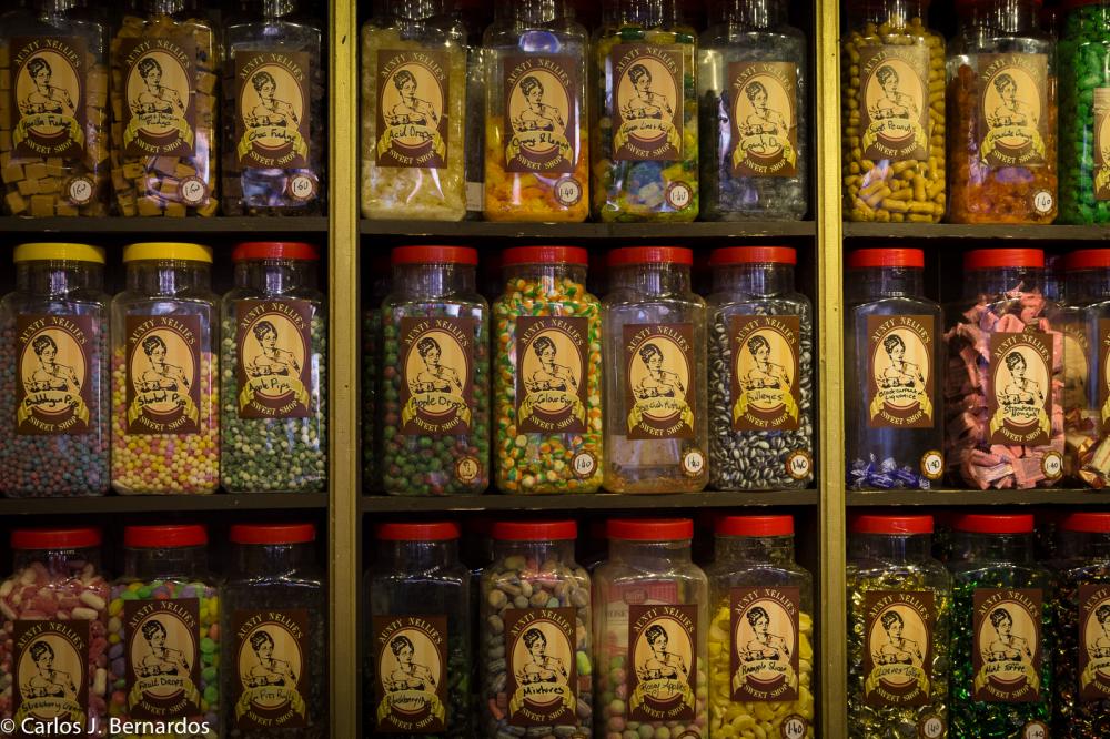 Sweets shop of Dublin (Ireland)