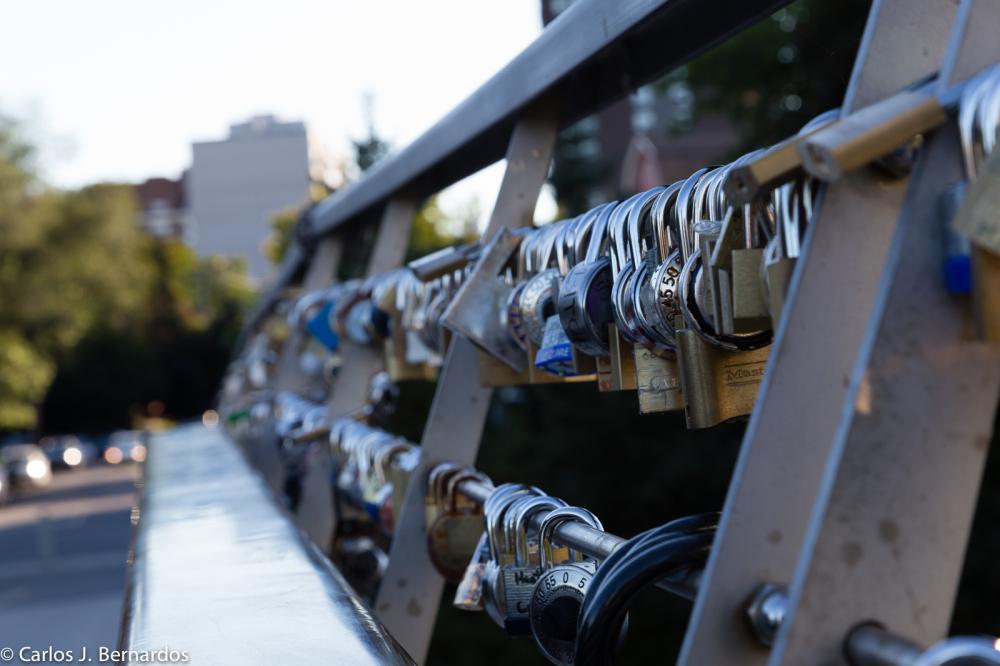 Ottawa locks in a bridge