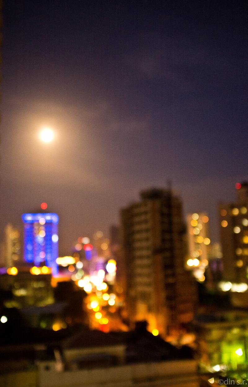 Desenfoque a la luz de la luna