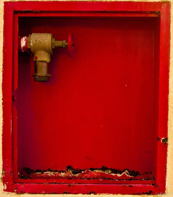 Rojo sin manguera
