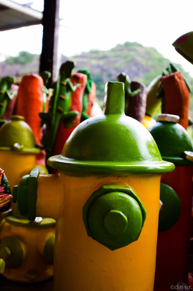 Hidrante Verde