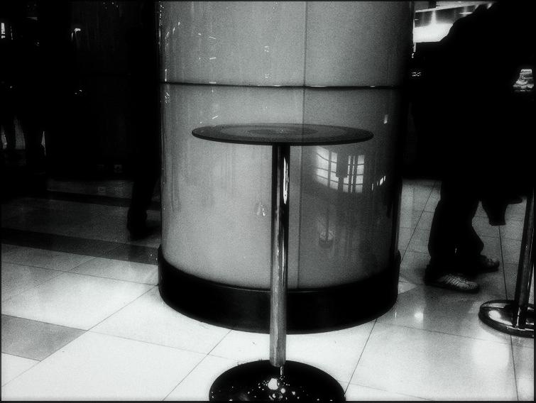 Table on the B-1 Floor