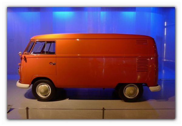 1960's VW minibus