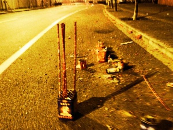 street residue