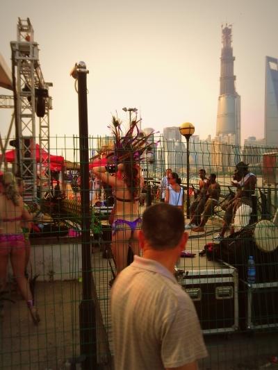 sunset carnival show