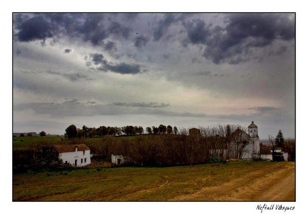 Nublado sobre la ermita