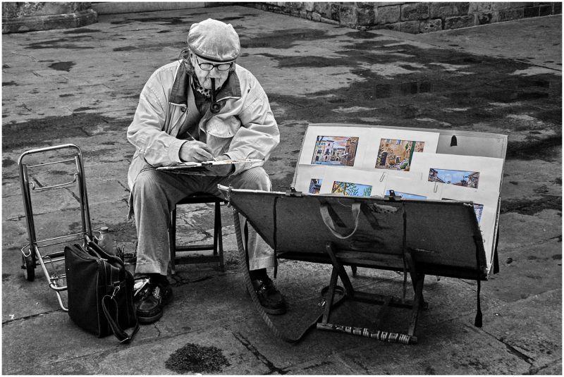 El pintor de la Plaza del Rey