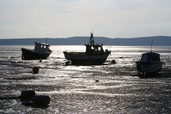 Low Tide At Weston-Super-Mare