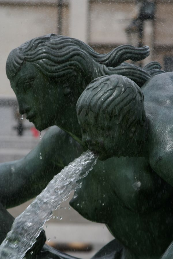 Trafalgar Square Water Feature.