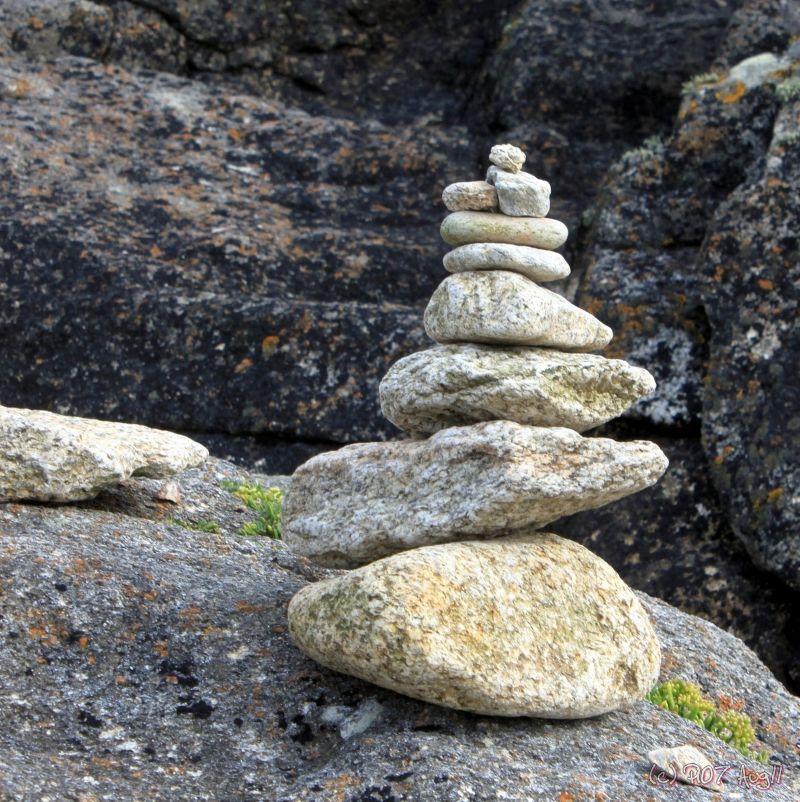cairn de pierres