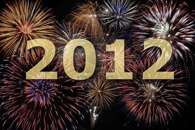 Bonne Année Happy New Year 2012