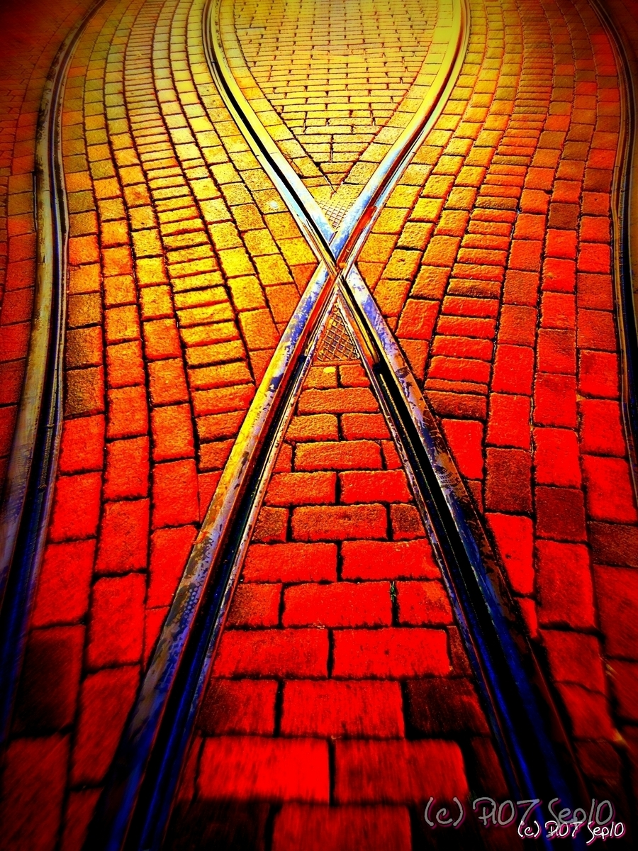 Cross-railroad