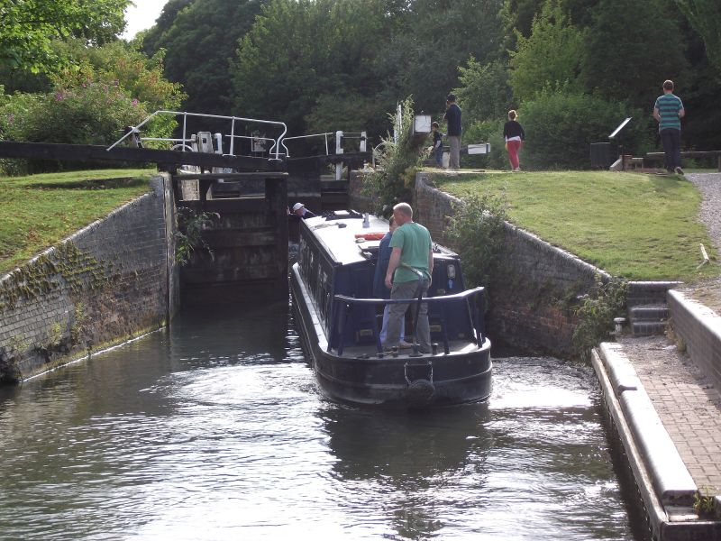 Into the lock