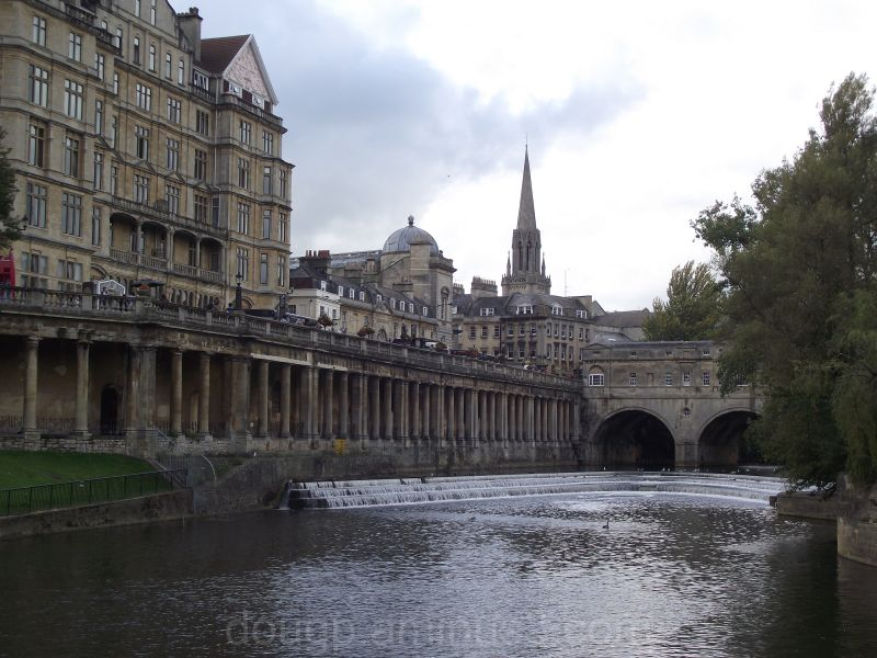 Pulteney Bridge and the weir Bath