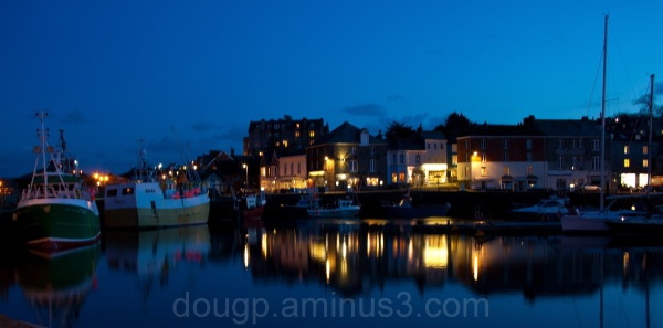 Padstow at night