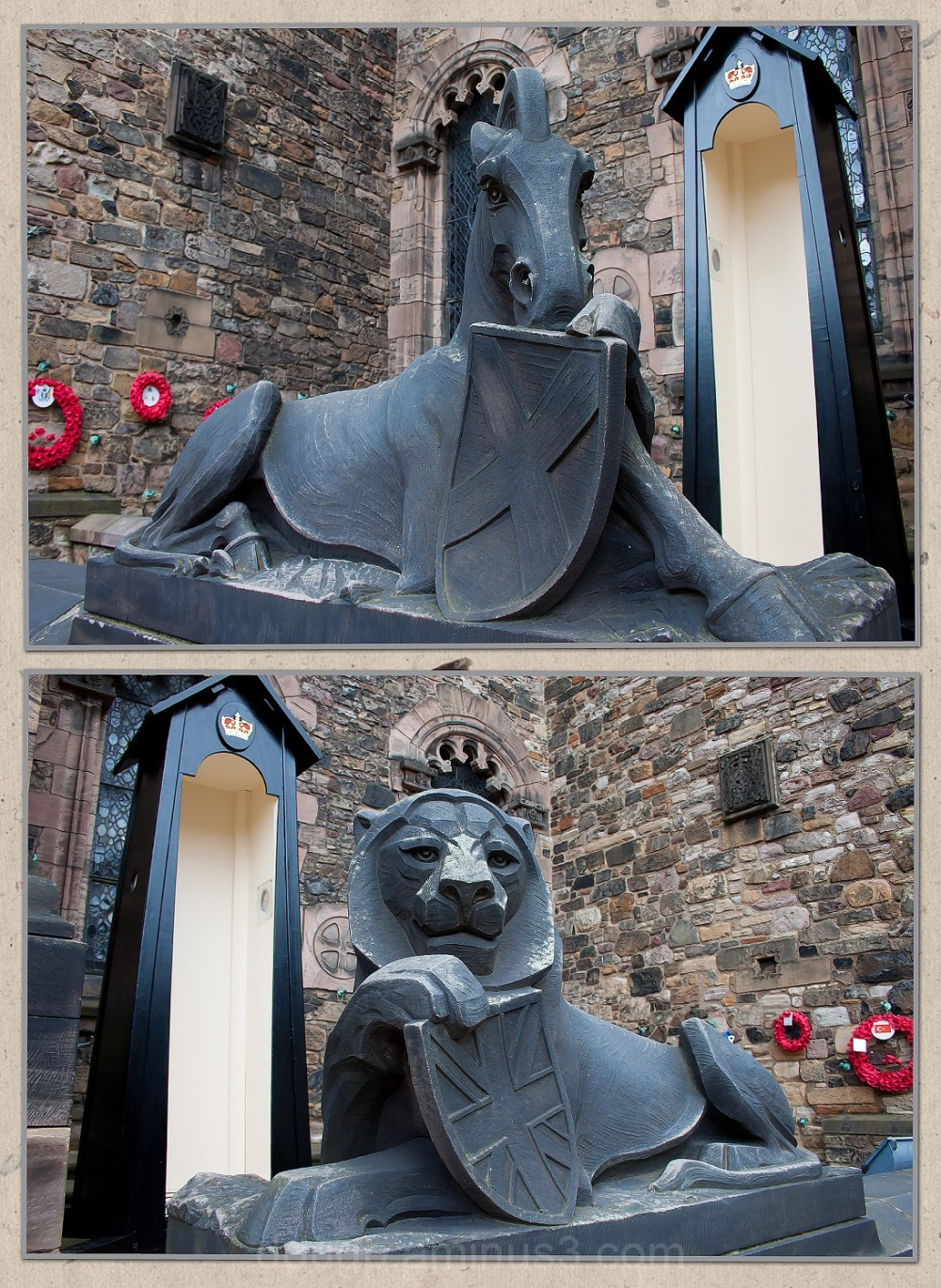 Edinburgh Castle, The Memorial