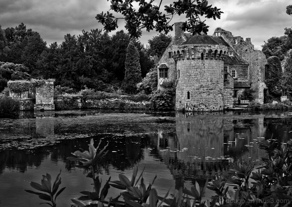 Scotney monochrome revisited