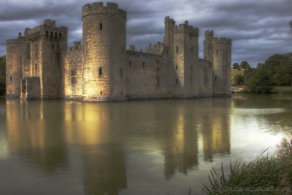 Bodiam Castle (HDR revisited again)