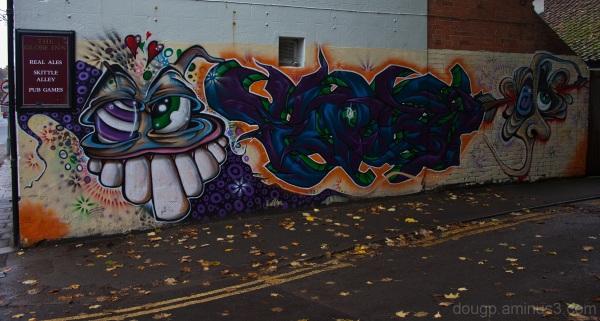 Glastonbury street art
