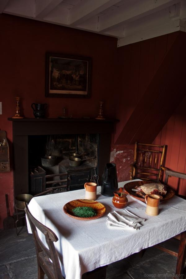 Blaenavon Ironworks cottage parlour