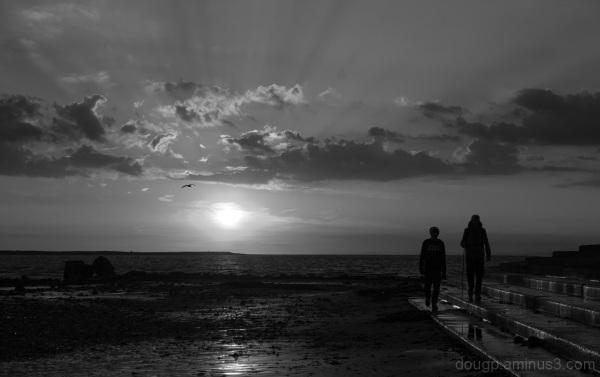 Monochrome sunset 1 of 3